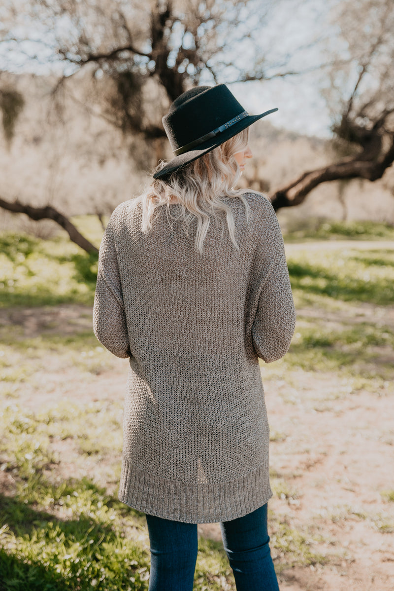 The Seamus Sweater in Gray Sage