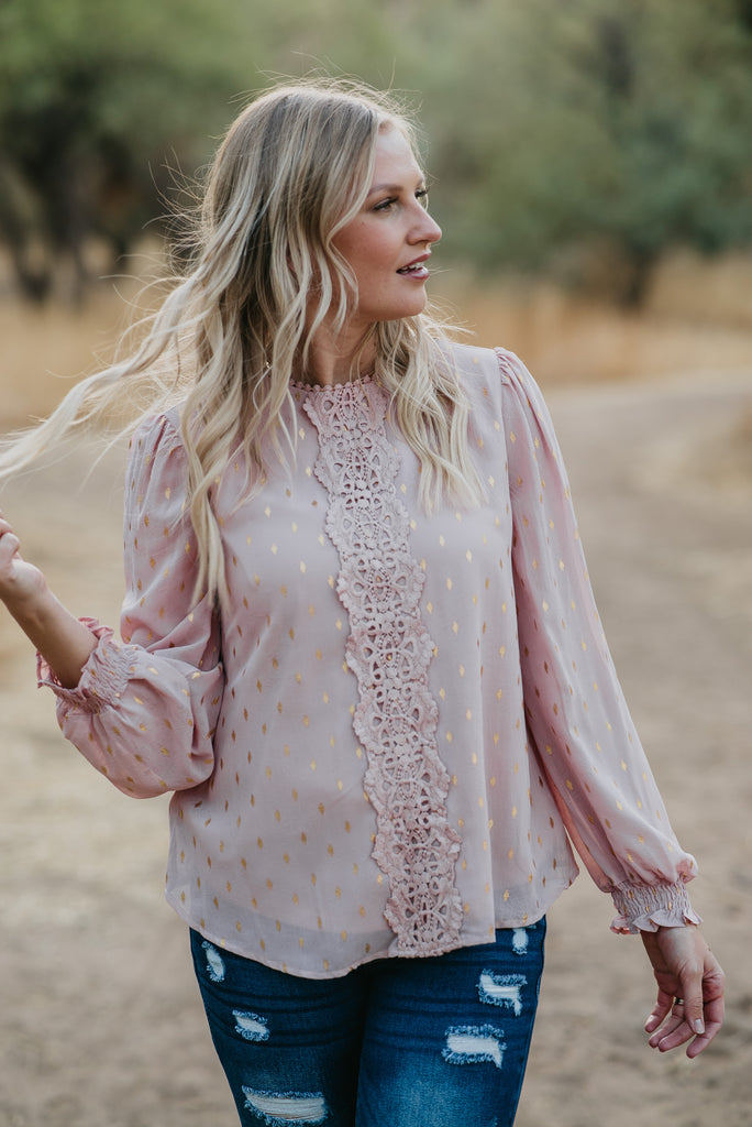 The Belen Lace Blouse (Sizes S-3X)