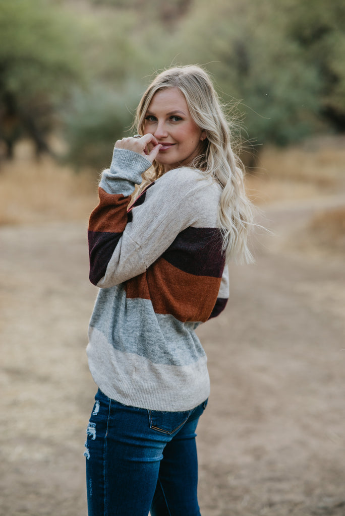 The Gilmore Sweater (Sizes S-3X)