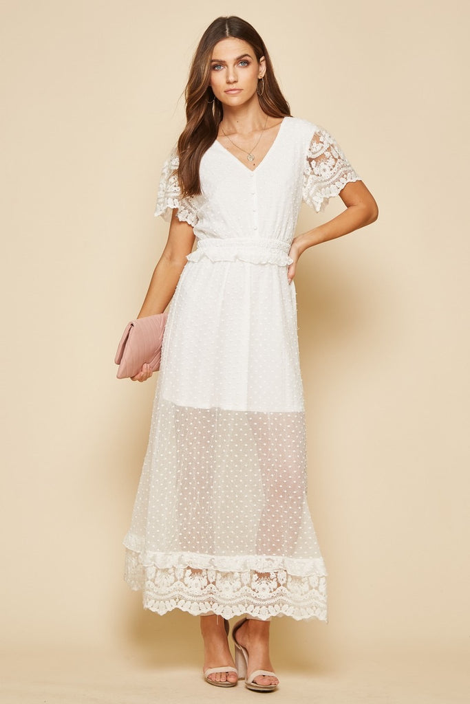 The Liliana Lace Maxi