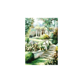 Diamond painting kit Blooming Garden AZ-446