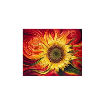 Diamond painting kit Burning Sunflower AZ-1211