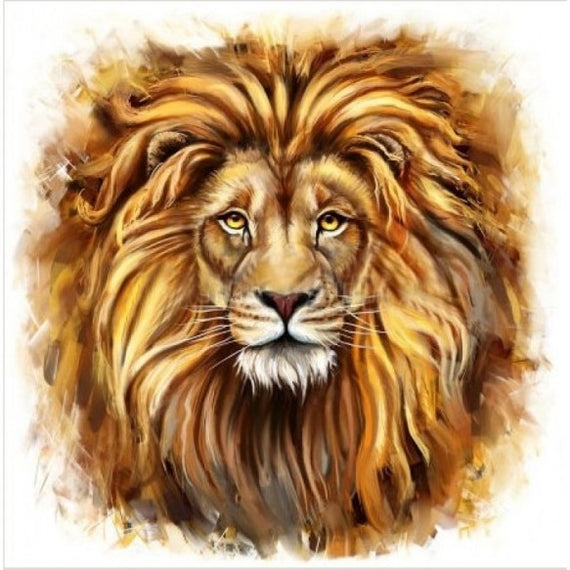 Diamond Painting Kit Lion AZ-1225