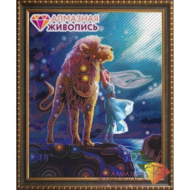 Diamond painting kit Lion Constellation AZ-3020