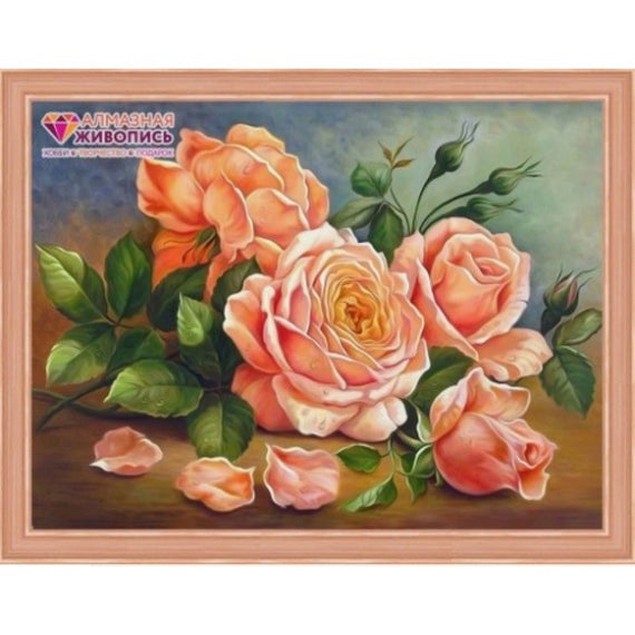 Diamond Painting Kit Rose Aroma AZ-1514