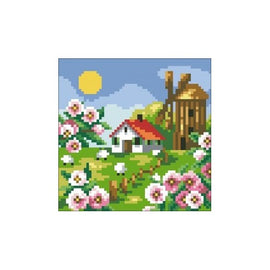 Diamond painting kit Spring Landscape AZ-406