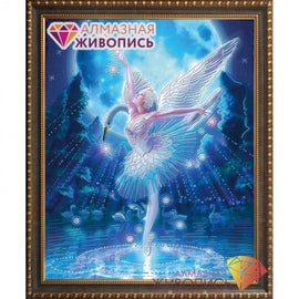 Diamond painting kit Swan Lake AZ-3019