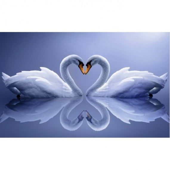 Diamond painting kit Swans AZ-210