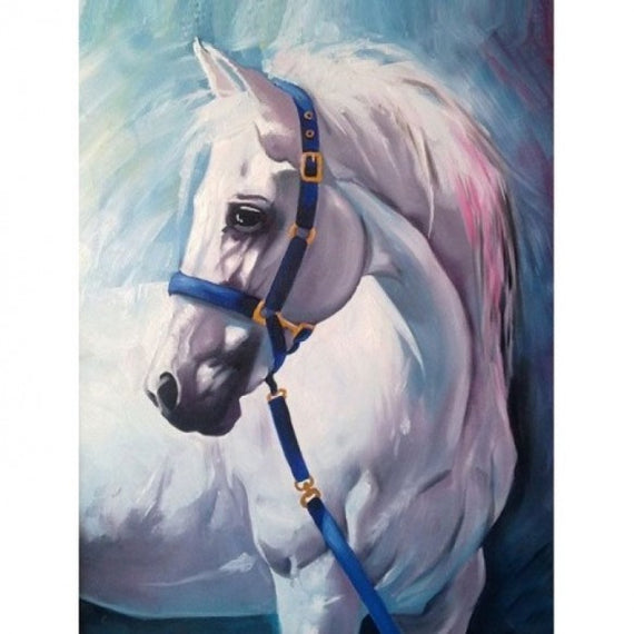 Diamond painting kit White Horse AZ-1387