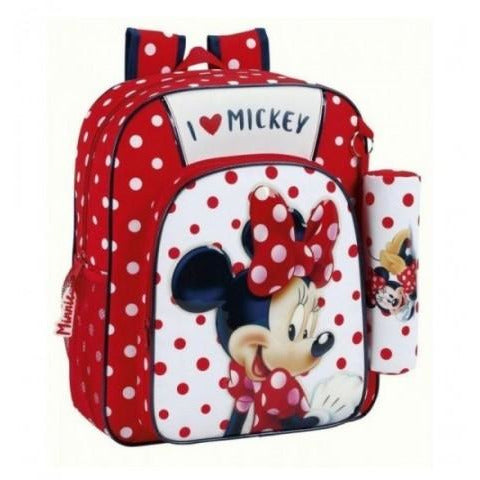 Disney Minnie ZAINO JUNIOR TRUK adaptive 32x38x12cm