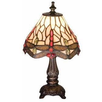 Tiffany Hanginghead Dragonfly Mini Lamp Brown- Free Shipping