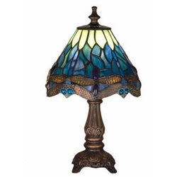 Tiffany Hanginghead Dragonfly Mini Lamp Blue- Free Shipping