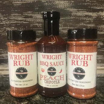 Two 13oz Rub & Sauce