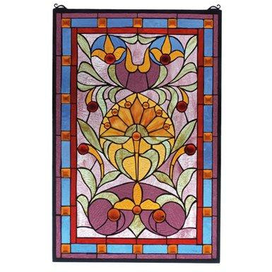 Picadilly Stained Glass Window- Free Shipping