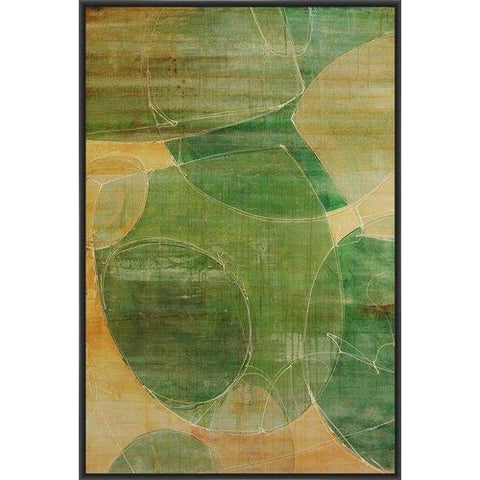 ADDIEL I 22L X 28H Floater Framed Art Giclee Wrapped Canvas- Free Shipping