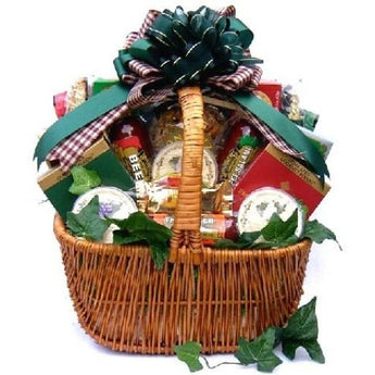 A Cut Above Cheese & Sausage Gift Basket- Multiple Sizes & Free Shipping