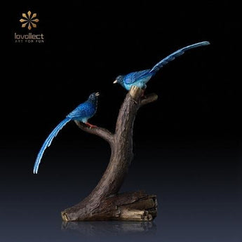 Lovollect Blue Magpie Statue