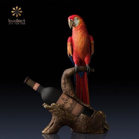 Lovollect Royal Macaw Wine Holder