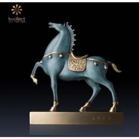 Lovollect Royal Tang Horse 2 Sculpture