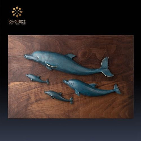 Lovollect Dolphin Family Wall Decor