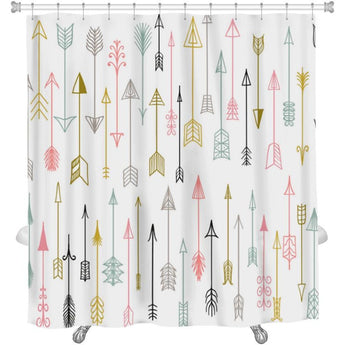 Hand Drawn Arrows Collection Shower Curtain- Free Shipping