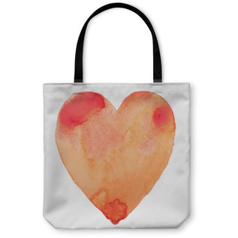 Hand Draw Watercolor Aquarelle Paint Tote Bag- Free Shipping