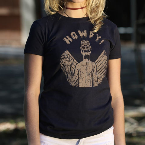 Captain Howdy T-Shirt Ladies - Free Shipping