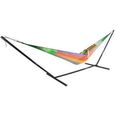 Sunnydaze Matrimonial Mayan Hammock and Stand Combo- Multiple Colors & Free Shipping