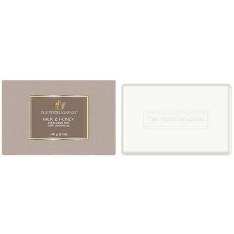 The Perth Soap Company Milk & Honey Cleansing Bar