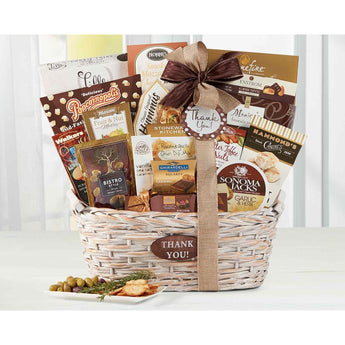 Many Thanks by Wine Country Gift Baskets- Price Includes Shipping