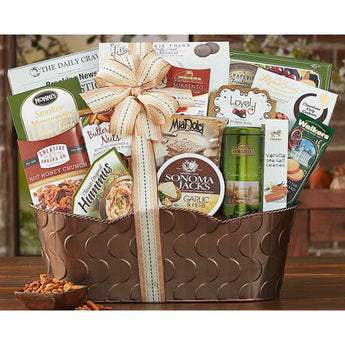The Grand Gourmet Gift Basket by Wine Country Gift Baskets- Price Includes Shipping