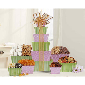 Tower of Sweets by Wine Country Gift Baskets- Price Includes Shipping