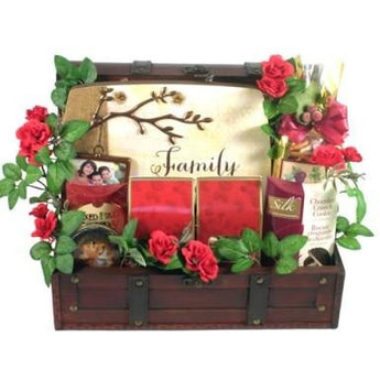 A Treasured Family Gift Basket- Free Shipping