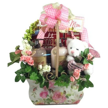 A Mother's Day Classic Gift Basket- Free Shipping