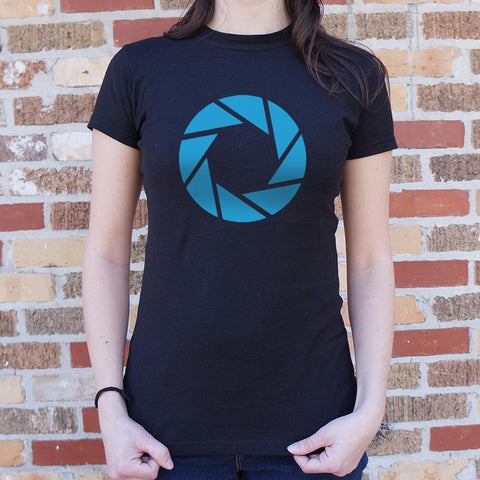 Aperture Labs T-Shirt Ladies- Free Shipping