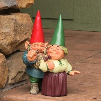 "Arnold and Sarah Get Married Gnome, 8.5"" Tall by Sunnydaze Decor"