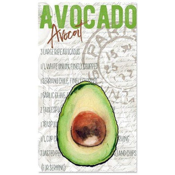 AVOCADO TEA TOWEL by Redstreake Creative Living