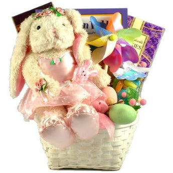 Ballerina Bunny Easter Gift Basket- Free Shipping