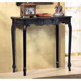 Black Scallop Table- Free Shipping