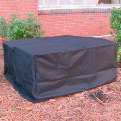 Heavy Duty Square Black Fire Pit Cover
