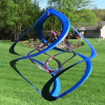 "Colored 14"" Double Wind Spinner- Multiple Colors"