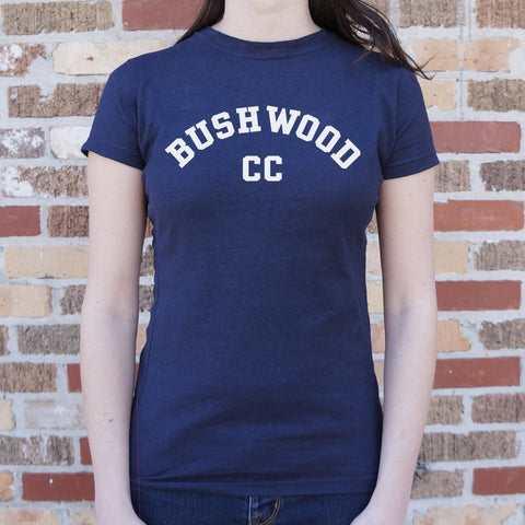 Bushwood Country Club T-Shirt Ladies- Free Shipping