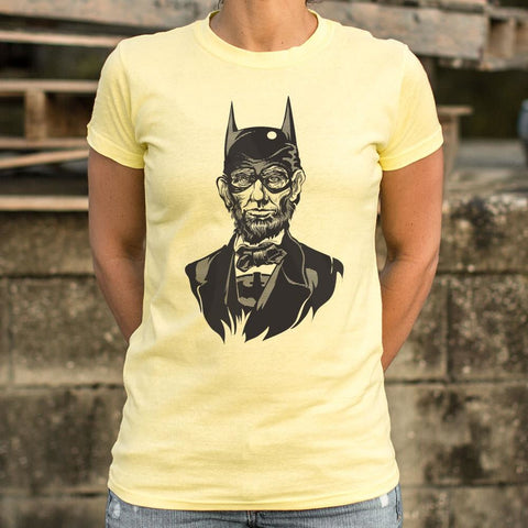 Caped Emancipator T-Shirt Ladies- Free Shipping