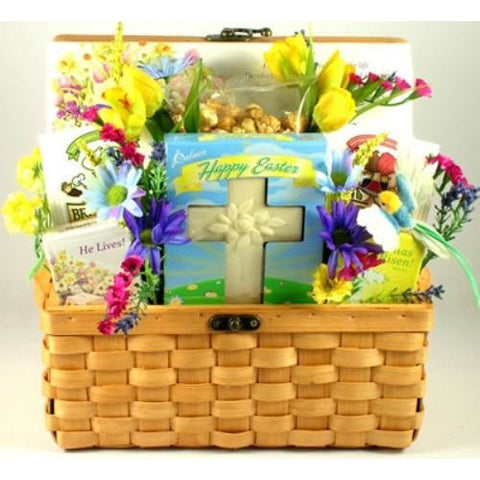 Buy easter blessings easter gift basket free shipping at easter blessings easter gift basket free shipping negle Images