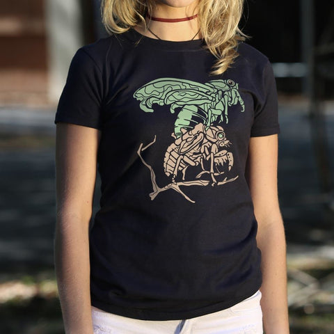 Cicada T-Shirt Ladies - Free Shipping