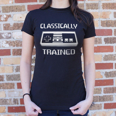 Classically Trained T-Shirt Ladies - Free Shipping