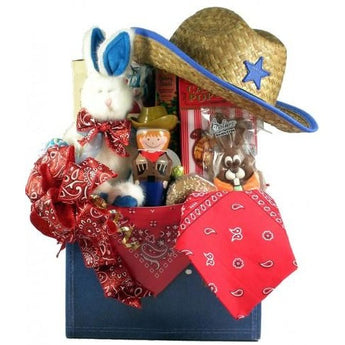 YeeHaw! Cowboy Themed Easter Basket- Multiple Sizes!