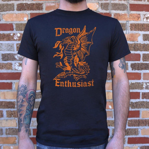 Mens Dragon Enthusiast T-Shirt