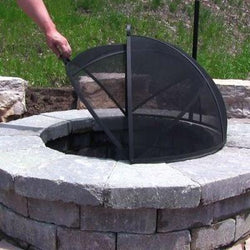 Easy Access Fire Pit Screen- Free Shipping