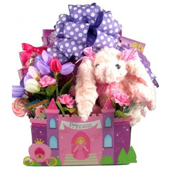 Fit For A Princess Easter Gift Basket- Multiple Sizes!